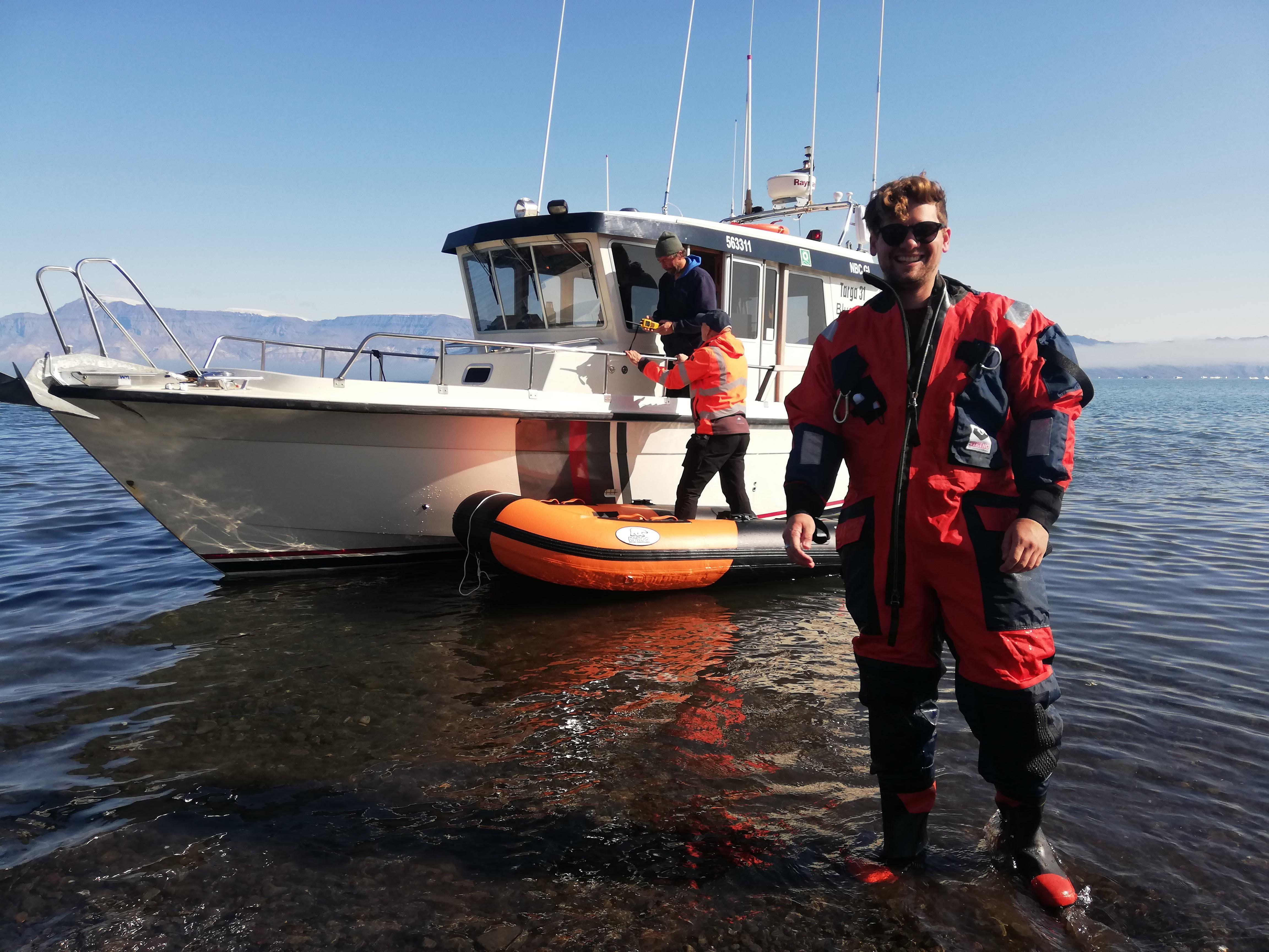 Internship highlight: Ethan Barnes with Bluejay mining (Greenland)