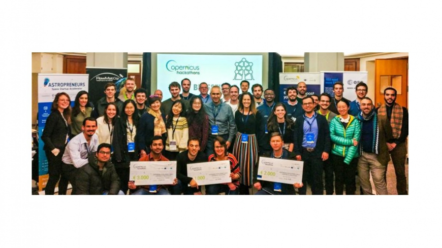 SINReM students win Sustainable Development Goals Copernicus Hackathon